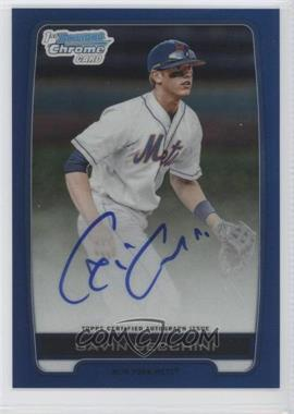 2012 Bowman Draft Picks & Prospects Chrome Draft Picks Certified Autographs Blue Refractor #BCA-GC - Gavin Cecchini /150