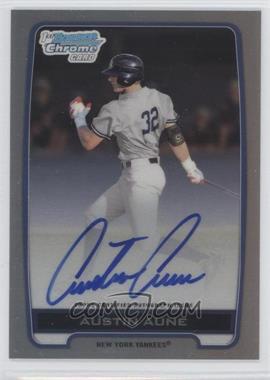 2012 Bowman Draft Picks & Prospects Chrome Draft Picks Certified Autographs Refractor [Autographed] #BCA-AAU - Austin Aune