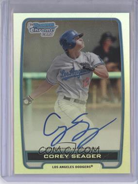 2012 Bowman Draft Picks & Prospects Chrome Draft Picks Certified Autographs Refractor [Autographed] #BCA-CS - Corey Seager