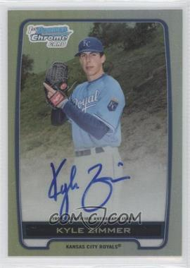 2012 Bowman Draft Picks & Prospects Chrome Draft Picks Certified Autographs Refractor [Autographed] #BCA-KZ - Kyle Zimmer