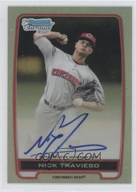2012 Bowman Draft Picks & Prospects Chrome Draft Picks Certified Autographs Refractor [Autographed] #BCA-NT - Nick Travieso