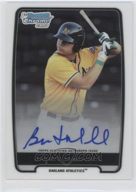 2012 Bowman Draft Picks & Prospects Chrome Draft Picks Certified Autographs #BCA-BM - Bruce Maxwell