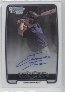 2012 Bowman Draft Picks & Prospects Chrome Draft Picks Certified Autographs #BCA-DD - David Dahl