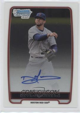 2012 Bowman Draft Picks & Prospects Chrome Draft Picks Certified Autographs #BCA-DM - Deven Marrero