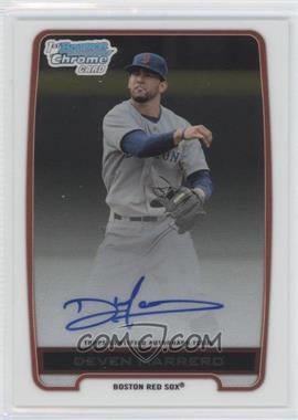 2012 Bowman Draft Picks & Prospects Chrome Draft Picks Certified Autographs #BCA-DM - Deven Marrero