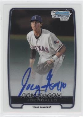 2012 Bowman Draft Picks & Prospects Chrome Draft Picks Certified Autographs #BCA-JG - Joey Gallo