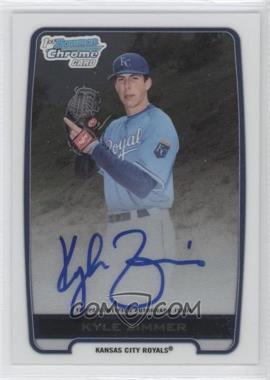 2012 Bowman Draft Picks & Prospects Chrome Draft Picks Certified Autographs #BCA-KZ - Kyle Zimmer