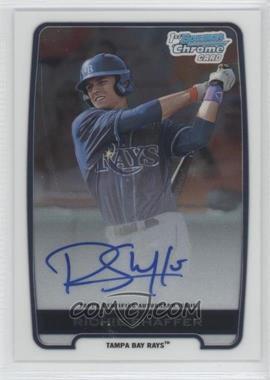 2012 Bowman Draft Picks & Prospects Chrome Draft Picks Certified Autographs #BCA-RS - Richie Shaffer