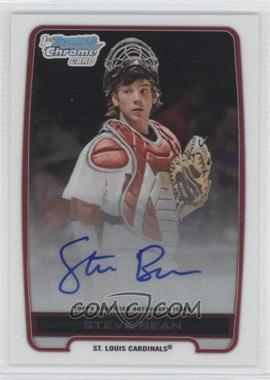 2012 Bowman Draft Picks & Prospects Chrome Draft Picks Certified Autographs #BCA-SB - Steve Bean