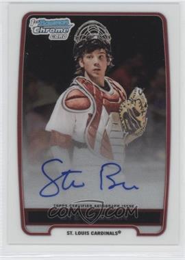 2012 Bowman Draft Picks & Prospects Chrome Draft Picks Certified Autographs #BCA-SB - Steve Bean