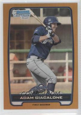 2012 Bowman Draft Picks & Prospects Chrome Draft Picks Gold Refractors #BDPP120 - Adam Giacalone /50