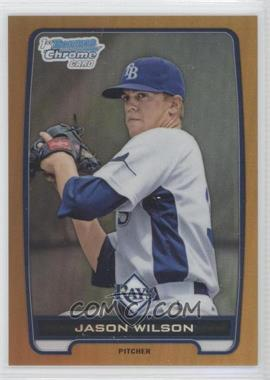 2012 Bowman Draft Picks & Prospects Chrome Draft Picks Gold Refractors #BDPP147 - Jason Wilson /50