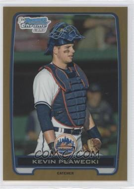 2012 Bowman Draft Picks & Prospects Chrome Draft Picks Gold Refractors #BDPP18 - Kevin Plawecki /50