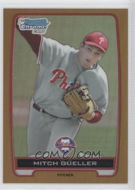 2012 Bowman Draft Picks & Prospects Chrome Draft Picks Gold Refractors #BDPP21 - Mitch Gueller /50