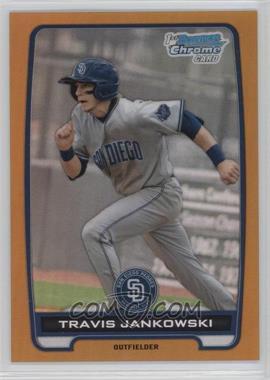 2012 Bowman Draft Picks & Prospects Chrome Draft Picks Gold Refractors #BDPP24 - Travis Jankowski /50