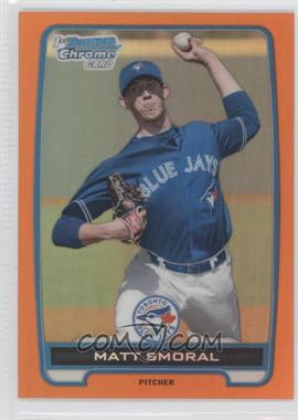 2012 Bowman Draft Picks & Prospects Chrome Draft Picks Orange Refractors #BDPP36 - Matt Smoral /25