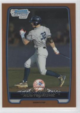2012 Bowman Draft Picks & Prospects Chrome Draft Picks Orange Refractors #BDPP39 - Austin Aune /25