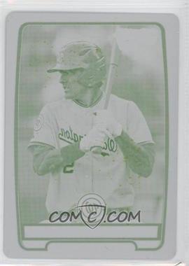 2012 Bowman Draft Picks & Prospects Chrome Draft Picks Printing Plate Yellow #BDPP150 - Hunter Bailey /1 [GoodtoVG‑EX]