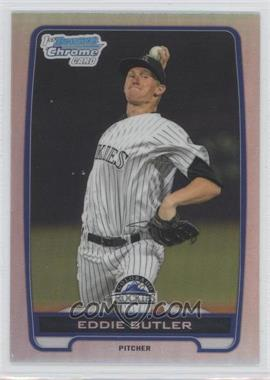 2012 Bowman Draft Picks & Prospects Chrome Draft Picks Refractors #BDPP103 - Eddie Butler