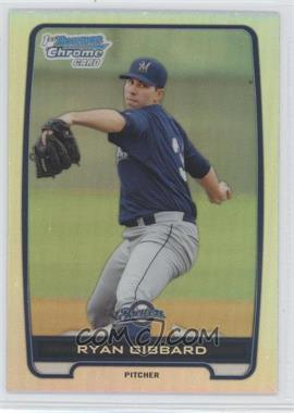 2012 Bowman Draft Picks & Prospects Chrome Draft Picks Refractors #BDPP105 - Ryan Gibbard