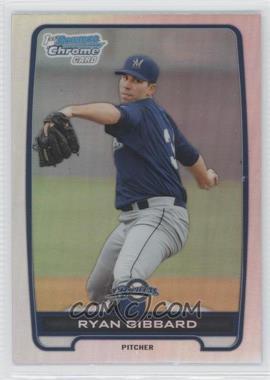 2012 Bowman Draft Picks & Prospects Chrome Draft Picks Refractors #BDPP105 - Ryan Gibbard
