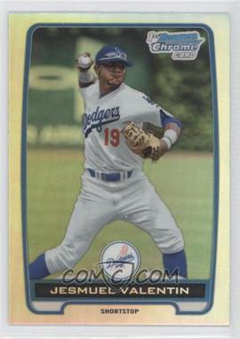2012 Bowman Draft Picks & Prospects Chrome Draft Picks Refractors #BDPP11 - Jesmuel Valentin