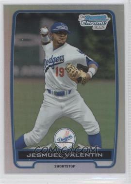 2012 Bowman Draft Picks & Prospects Chrome Draft Picks Refractors #BDPP11 - Jesmuel Valentin