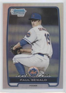 2012 Bowman Draft Picks & Prospects Chrome Draft Picks Refractors #BDPP117 - Paul Sewald