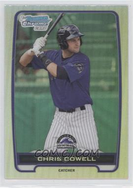 2012 Bowman Draft Picks & Prospects Chrome Draft Picks Refractors #BDPP128 - Chris Cowell