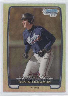 2012 Bowman Draft Picks & Prospects Chrome Draft Picks Refractors #BDPP130 - Kevin McKague