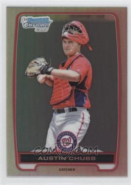 2012 Bowman Draft Picks & Prospects Chrome Draft Picks Refractors #BDPP139 - Austin Chubb