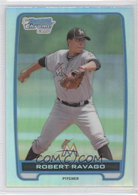 2012 Bowman Draft Picks & Prospects Chrome Draft Picks Refractors #BDPP141 - Robert Ravago