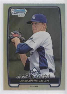 2012 Bowman Draft Picks & Prospects Chrome Draft Picks Refractors #BDPP147 - Jason Wilson