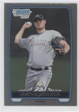 2012 Bowman Draft Picks & Prospects Chrome Draft Picks Refractors #BDPP148 - Justin Jackson