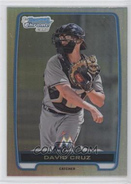2012 Bowman Draft Picks & Prospects Chrome Draft Picks Refractors #BDPP152 - David Cruz