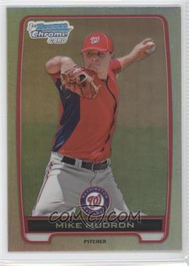 2012 Bowman Draft Picks & Prospects Chrome Draft Picks Refractors #BDPP153 - Mike Mudron