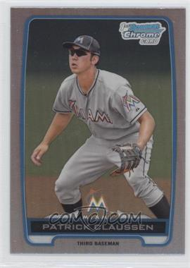 2012 Bowman Draft Picks & Prospects Chrome Draft Picks Refractors #BDPP156 - Patrick Claussen