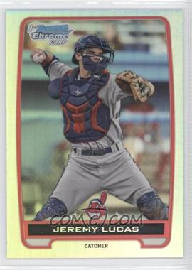 2012 Bowman Draft Picks & Prospects Chrome Draft Picks Refractors #BDPP159 - Jeremy Lucas
