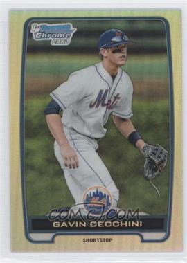 2012 Bowman Draft Picks & Prospects Chrome Draft Picks Refractors #BDPP17 - Gavin Cecchini