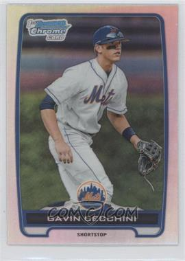 2012 Bowman Draft Picks & Prospects Chrome Draft Picks Refractors #BDPP17 - Gavin Cecchini