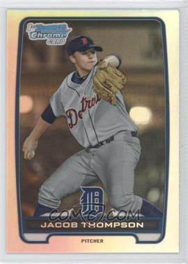 2012 Bowman Draft Picks & Prospects Chrome Draft Picks Refractors #BDPP38 - Jacob Thompson