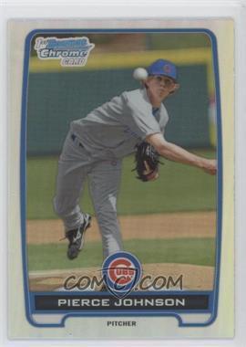 2012 Bowman Draft Picks & Prospects Chrome Draft Picks Refractors #BDPP4 - Pierce Johnson
