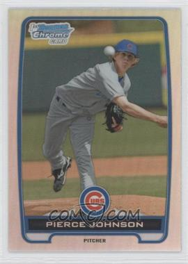 2012 Bowman Draft Picks & Prospects Chrome Draft Picks Refractors #BDPP4 - Pierce Johnson