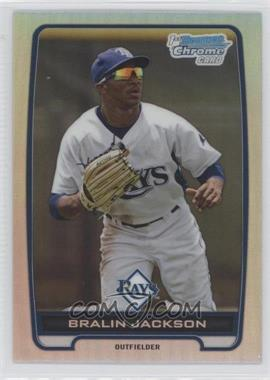2012 Bowman Draft Picks & Prospects Chrome Draft Picks Refractors #BDPP60 - Bralin Jackson