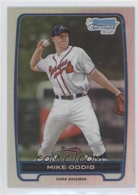 2012 Bowman Draft Picks & Prospects Chrome Draft Picks Refractors #BDPP77 - Mike Dodig