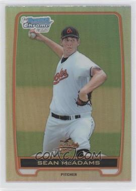 2012 Bowman Draft Picks & Prospects Chrome Draft Picks Refractors #BDPP94 - Sean McAdams