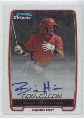 2012 Bowman Draft Picks & Prospects Chrome Prospects Certified Autographs [Autographed] #BCA-BH - Billy Hamilton