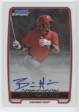 2012 Bowman Draft Picks & Prospects Chrome Prospects Certified Autographs [Autographed] #BCA-BH - Billy Hamilton