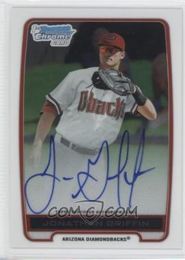2012 Bowman Draft Picks & Prospects Chrome Prospects Certified Autographs [Autographed] #BCA-JG - Jonathan Griffin