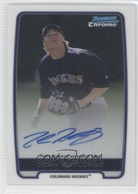 2012 Bowman Draft Picks & Prospects Chrome Prospects Certified Autographs [Autographed] #BCA-JR - Josh Rutledge